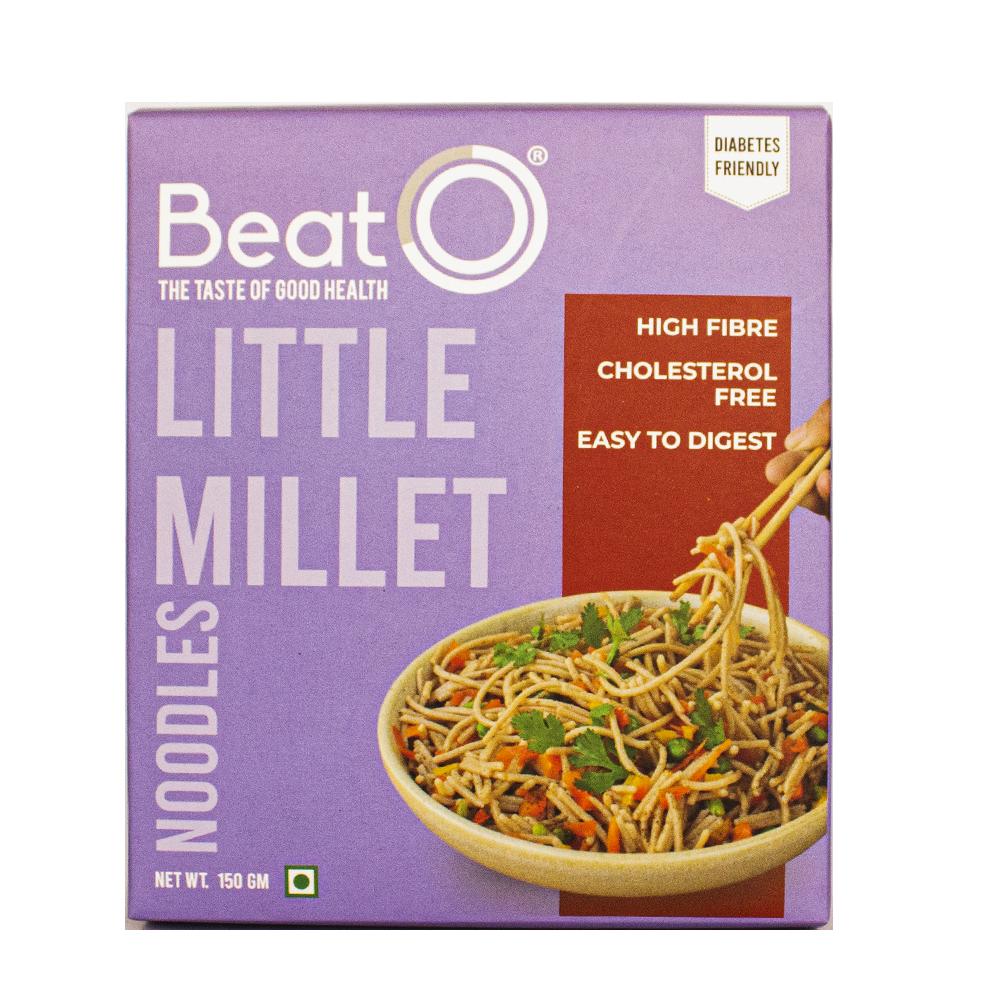 BeatO Little Millet Noodles, 150gm (Nutrient Rich, Diabetic-Friendly)
